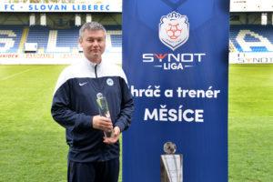 FC SLovan Liberec, trenér měsíce DUBEN 2015